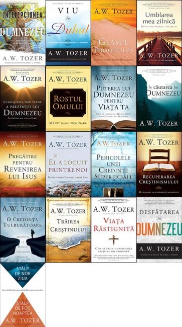 Set 17 carti de A. W. TOZER