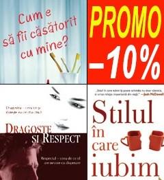 Pachet PROMO 2: Dragoste si respect + Cum e sa fii casatorit cu mine + Stilul in care iubim