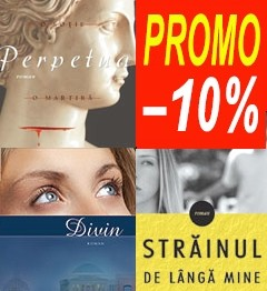 Pachet PROMO 6: Divin + Perpetua: o sotie, o martira, o pasiune + Strainul de langa mine