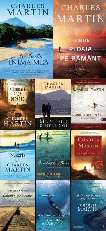 Pachet PROMO 9: 11 romane de CHARLES MARTIN