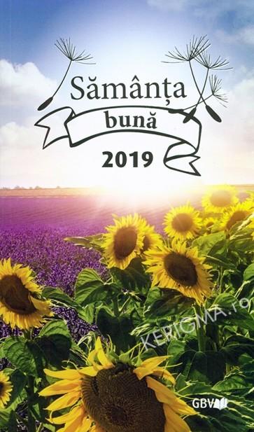 Samanta buna 2019. Meditatii zilnice (format mare)