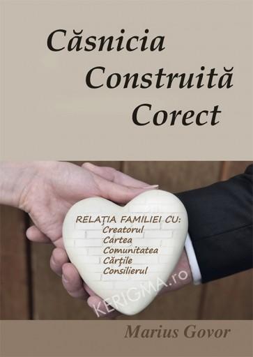 Casnicia construita corect. Relatia familiei cu Creatorul, Cartea, comunitetea, cartile, consilierul