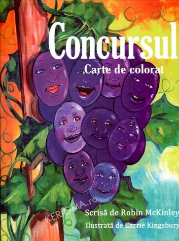 Concursul. Carte de colorat