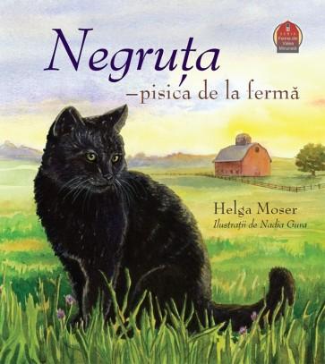 Negruța - pisica de la fermă