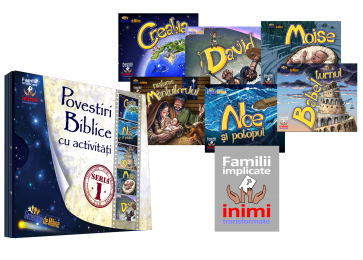 """Povestiri biblice cu activități (Set """"Familii implicate"""")"""