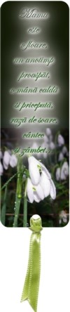 Semn carte_Mama este o floare ghiocel... [R]