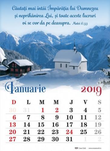 Calendar 2019 CC – format A4