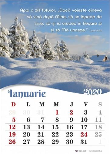 Calendar 2020 CC – format A4