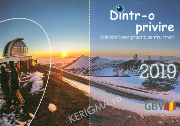 """Calendar 2019 - """"Dintr-o privire"""""""