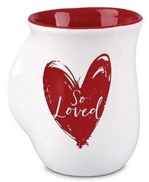 Cana din ceramica - 1 Peter 1:22 (So Loved) – Handwarmer