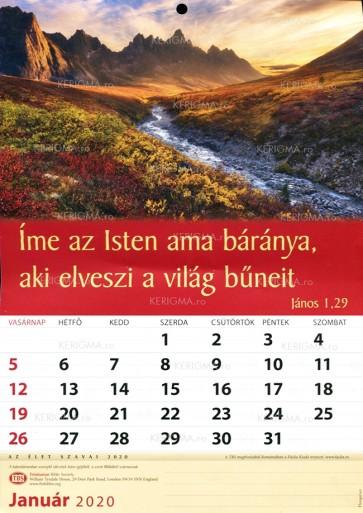 Calendar 2020. Lb. mag. (TBS)