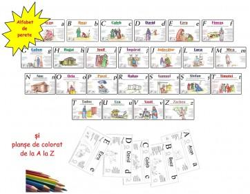 Alfabet personaje biblice și virtuți