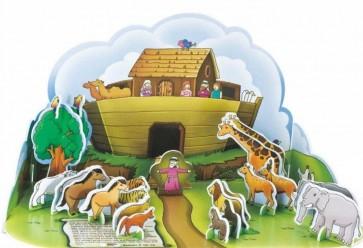 Puzzle 3D Arca lui Noe