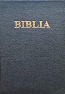 Biblia. Vechiul si Noul Testament [format mediu]. SBR, cop. rigida, negru, fara cruce