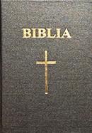 Biblia. Vechiul si Noul Testament [format mic]. SBR, cop. rigida, negru, cu cruce
