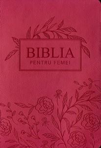 Biblia pentru femei Roz MARE