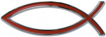 """Emblema auto """"Peste"""" (rosu)"""