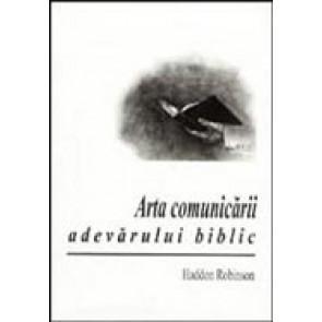 Arta comunicarii adevarului biblic