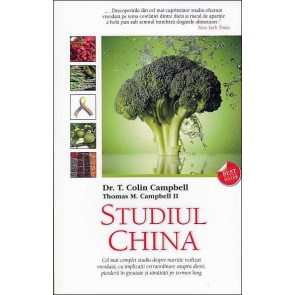 Studiul CHINA. Adevarul despre alimentatia omenirii