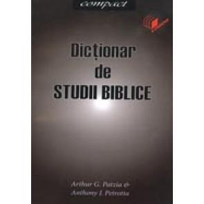 Dictionar de studii biblice