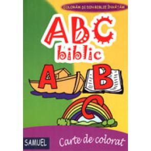 ABC biblic. Carte de colorat
