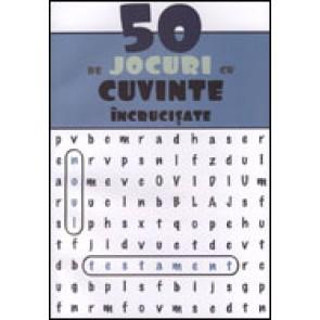 50 de jocuri cu cuvinte incrucisate (albastru)