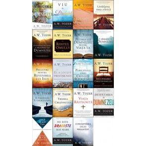 Set 19 cărți de A. W. TOZER