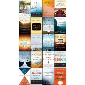 Set 20 cărți de A. W. TOZER