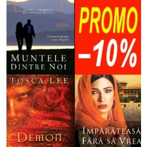 Pachet PROMO 4: Muntele dintre noi + Imparateasa fara sa vrea. Povestea de dragoste a Esterei + Demon: Memorii