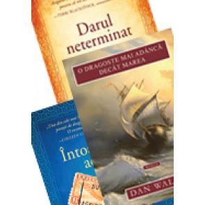 Pachet PROMO 11. TREI romane de Dan Walsh