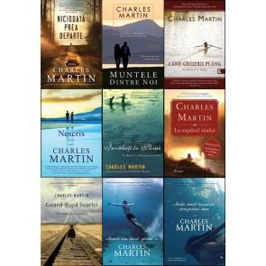 Pachet PROMO 9: NOUA romane de CHARLES MARTIN