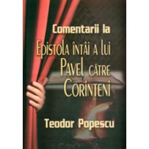 Comentarii la Epistola intai a lui Pavel catre corinteni