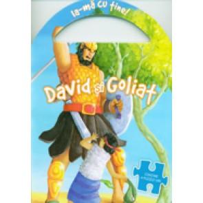 Carte puzzle - David si Goliat
