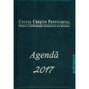 Agenda 2017. Cultul Crestin Penticostal