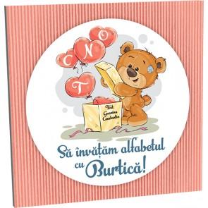 Sa invatam alfabetul cu Burtica!