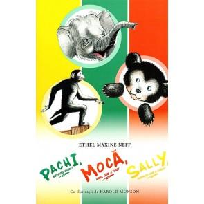 Pachi, elefantul evadat; Moca, ursul care a fugit; Sally, maimuta care a scapat