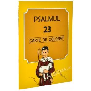Psalmul 23. Carte de colorat