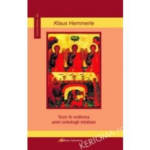 Teze in vederea unei ontologii trinitare