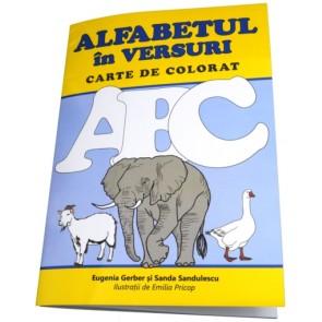 Alfabetul in versuri. Carte de colorat