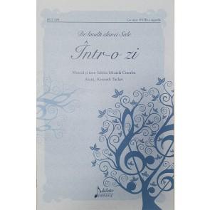 Într-o zi. Partitură pentru corul bisericii SATB cu acompaniament de pian (Pachet de 10 buc.)