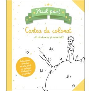 Micul prinț. Carte de colorat cu 40 de desene și activități