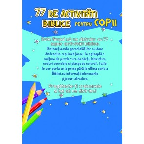 77 de activități biblice pentru copii