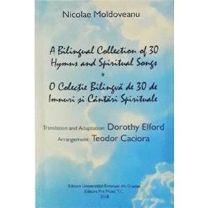 O colecție bilingvă de 30 de imnuri și cântări spirituale