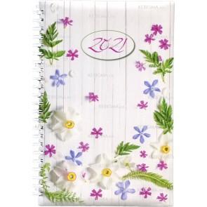 Agenda pentru femei 2021 - Flori la ușa ta