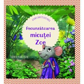 Ascunzătoarea micuței Zoe [atunci când îți este frică]