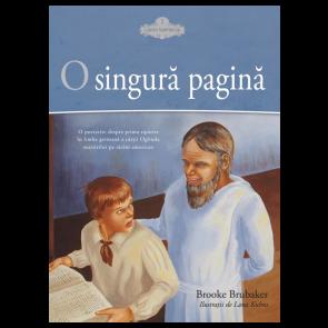 """O singură pagină. O povestire despre prima tipărire în limba germană a cărții """"Oglinda martirilor pe tărâm american"""""""