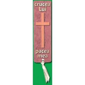 Semn carte_Crucea Lui - pacea mea [R]