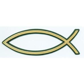 """Emblema auto """"Peste"""" mare [auriu]"""