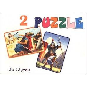 Puzzle. David si Goliat - 1. David si Goliat - 2
