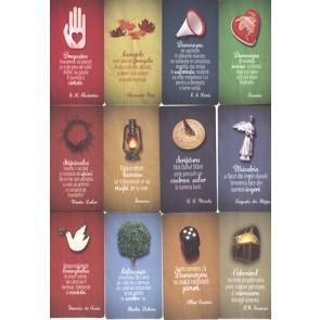 Set carduri cu versete biblice_Randuri, ganduri pentru suflet